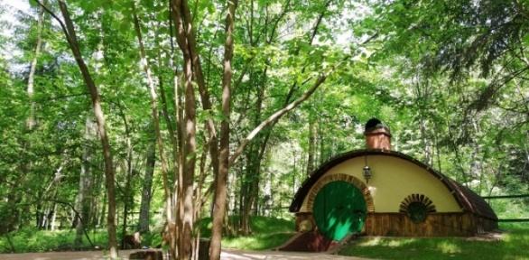 Отдых вхоббитском доме для одного или двоих вэкоотеле Hobbitland