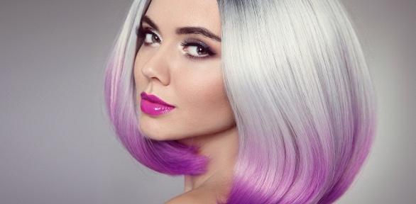 Стрижка, окрашивание волос всалоне красоты «Кокетка»