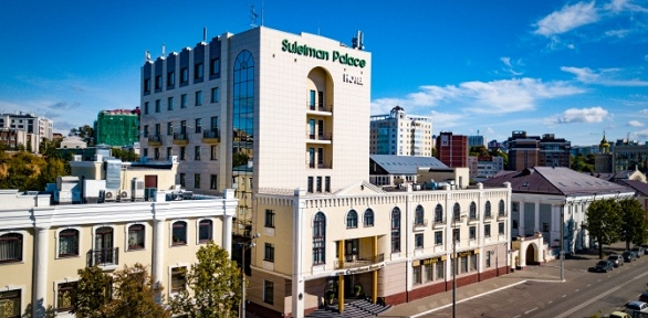 Отдых для двоих вномере выбранной категории вотеле Suleiman Palace Hotel