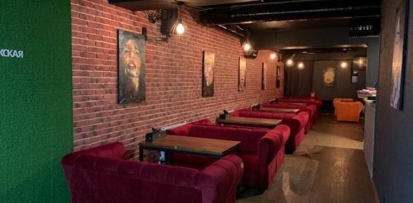 Напитки влаундж-баре «Мята Рижская» заполцены