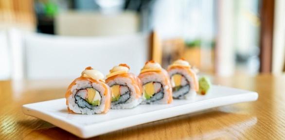 Всё меню отслужбы доставки Sushi Vostorg заполцены
