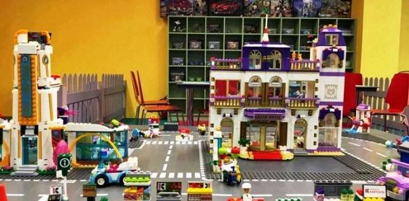 Детский день рождения вклубе «Кулибин: город мастеров игород поездов»