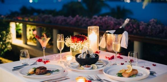 Романтический ужин для двоих вГРК «Хлопок»