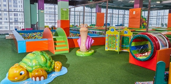 Целый день развлечений вТРЦ «Академический» всемейном парке Fun City