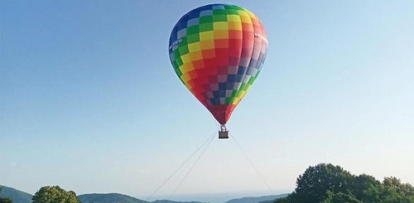 Полет навоздушном шаре наферме «Экзархо» отклуба Sky Ball Sochi