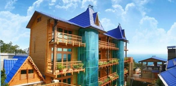 Отдых вЯлте сзавтраками, посещением аквапарка вмини-отеле «Княжий Град»