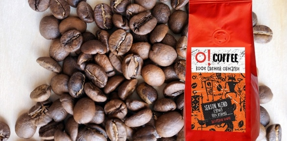 Упаковка зернового кофе Capriccio, Season Blend, Cantabile или Vivo