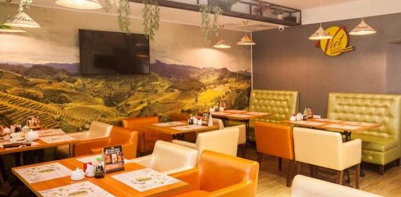 Блюда инапитки всети ресторанов вьетнамской кухни Viet Express