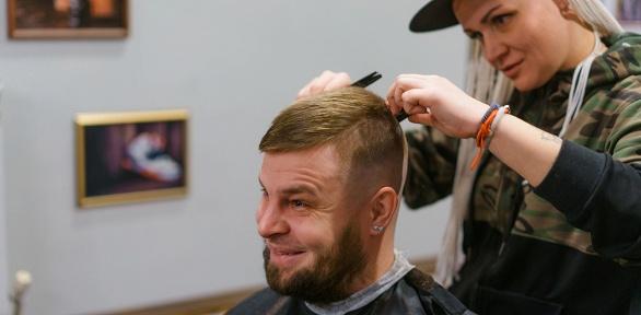 Оформление бороды, мужская или детская стрижка вбарбершопе Pride