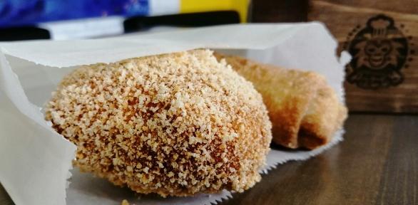 Бразильские пирожки инапиток вкафе Patty
