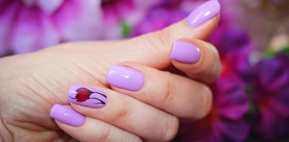 Маникюр ипедикюр спокрытием ногтей гель-лаком всалоне Lure Beauty Studio