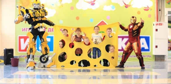 Организация детского дня рождения вдетском игровом центре «Играйка»