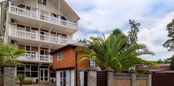 Проживание наберегу Черного моря вгостевом доме «Вита»