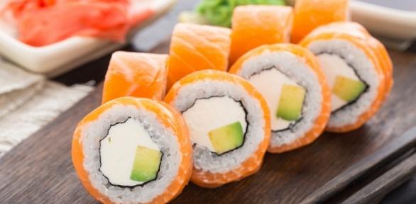 Сеты отслужбы доставки Grand Sushi