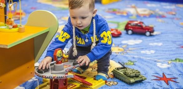 Посещение игровой комнаты для детей отигрового комплекса «38попугаев»