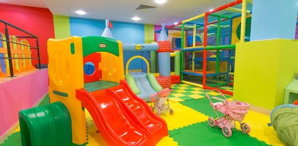 Посещение игровой комнаты отцентра «Радужный жираф»