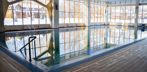 Отдых спосещением бассейна впарк-отеле «Васильевский»