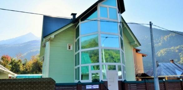 Отдых вКрасной Поляне вгостевом доме Green House