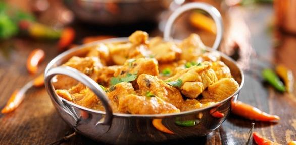 Ужин водном издвух ресторанов «Дом карри»