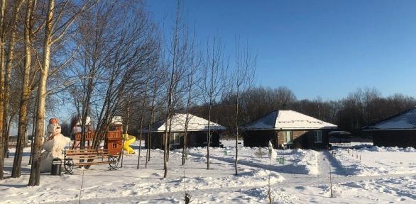 Отдых наберегу Вазузского водохранилища набазе отдыха «Зазерки»