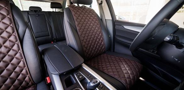 Защитные накидки изалькантары для сидений автомобиля