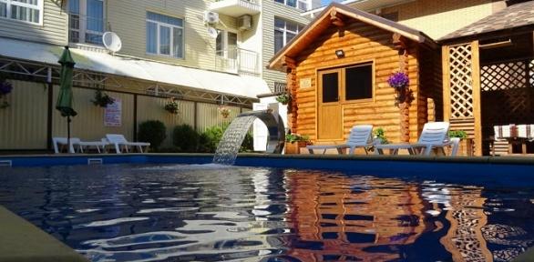 Отдых наЧерном море спосещением сауны ибассейна вгостинице Grand Villa