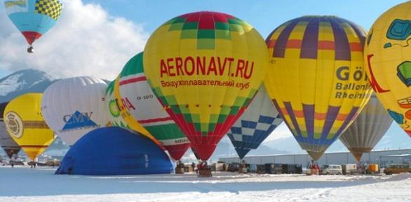 Полет нашаре странсфером изМосквы от«Аэронавтики»
