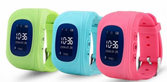 Детские GPS-часы-телефон Smart Baby Watch Q50