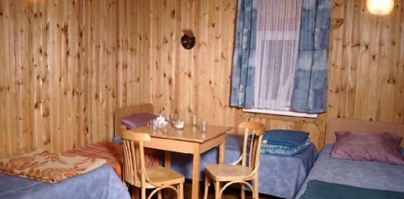 Отдых наберегу реки Дон вдоме набазе отдыха Ostrov