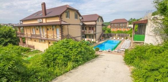 Отдых странсфером доморя ипосещением бассейна вгостевом доме «Баунти»