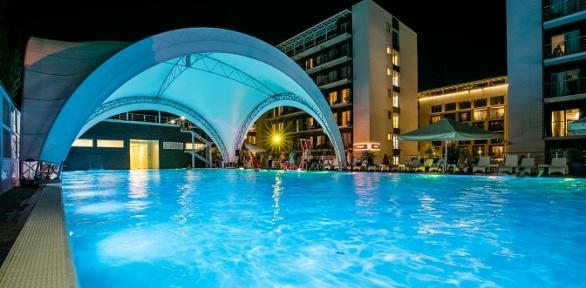 Отдых вСочи наберегу Черного моря спитанием вкомплексе Bridge Resort