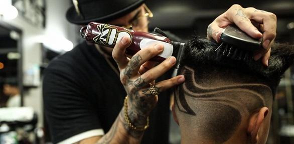 Мужская стрижка имоделирование бороды вбарбершопе «Бородатая Mafia»