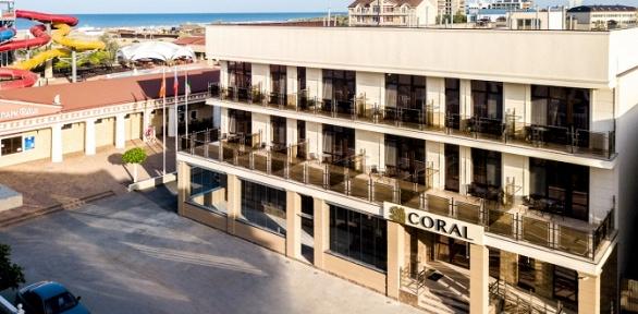 Отдых вбархатный сезон вотеле Coral Family Hotel
