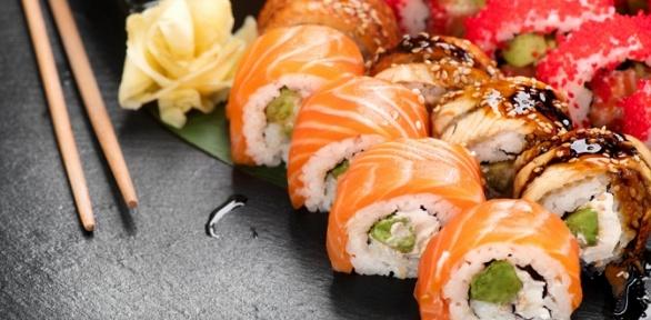 Суши-сеты навыбор отслужбы доставки Sushi Team заполцены