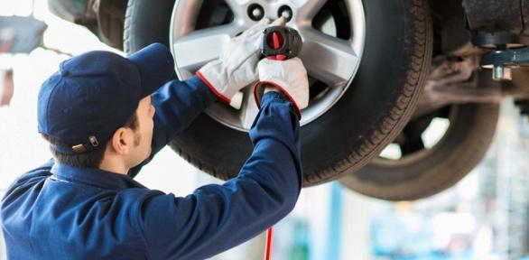 Замена ибалансировка колес автомобиля в«Автокомплексе наБестужева»
