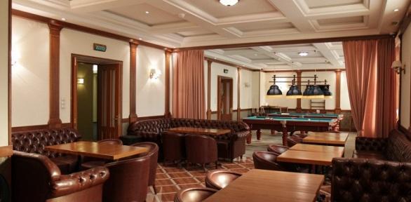 Организация банкета вбильярд-баре «Гостиная»