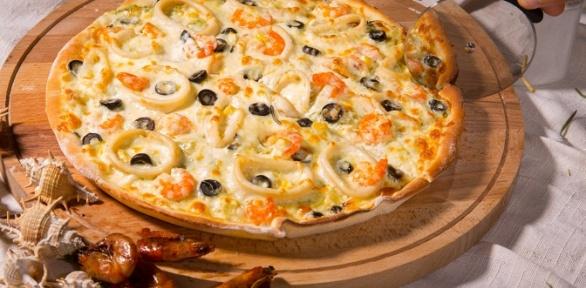 Пицца навынос или при посещении пиццерии Portofino заполцены