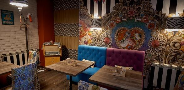 Ужин встиле СССР вкафе-баре «Сыто-Piano»