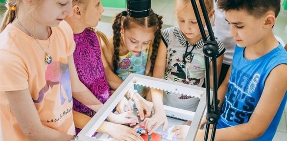 Посещение детского мастер-класса вмастерской «Мультистория»