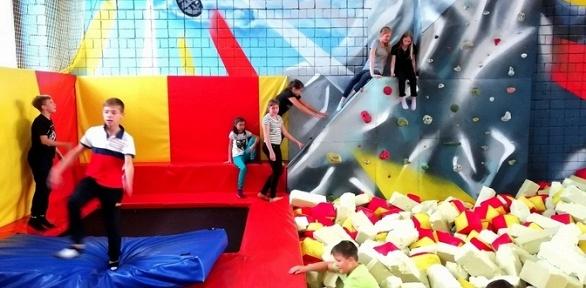 1или 2часа прыжков набатутной арене Fun Zone