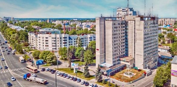 Проживание вцентре города Владимира вгостинице «Заря»