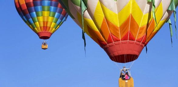 Полет навоздушном шаре навысоту до50или 500м отклуба Sochifly