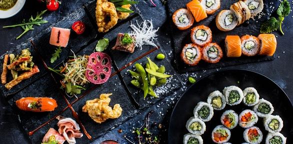 Роллы, суши, блюда wok, пицца отдоставки Mister-sushi за полцены