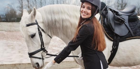 Часовая конная прогулка поэкопарку отКСК «Кентавр»