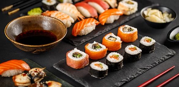 Суши-сет отслужбы доставки японской кухни «Суши Сити»