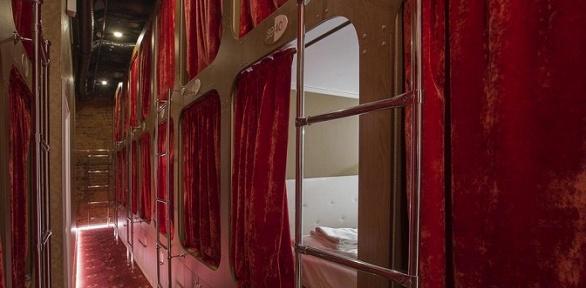 Отдых вцентре Петербурга вотеле Nevsky Capsule Hotel