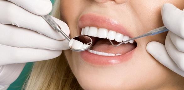 Лечение кариеса любой сложности 1или 2зубов встоматологии «Олимп»