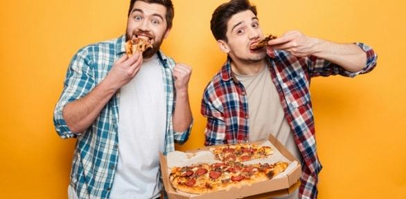 Всё меню пиццы отслужбы доставки Al_Saha заполцены