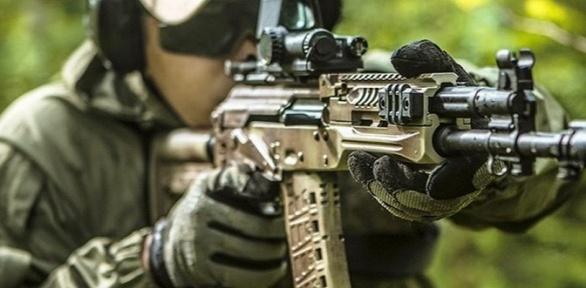 Стрельба изоружия встрайкбольном тире Tactik