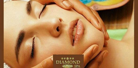 Чистка лица, LPG-массаж или ручной всалоне Diamond SPA